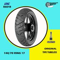 Ban Motor MOGE (Motor Batangan) // IRC SS-RX01R 140/70 Ring 17