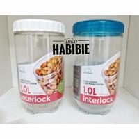 Lock n Lock Food Container Interlock Kotak Toples Makanan Kue Jar