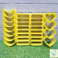 Cetakan Kue Kacang Kastengel / Kastengels Motif bahan plastik