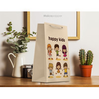 Paperbag Custom Design 15x6.5x22cm PAPER BAG ultah anak souvenir