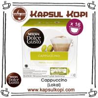 Cappuccino Kapsul Kopi Nescafe Dolce Gusto NDG Coffee Capsule