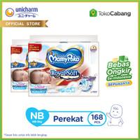 [TokoCabang] MamyPoko Popok Perekat Royal Soft - NB 84 - 2 Packs