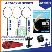Raket Badminton YONEX ASTROX 01 CLEAR / FEEL / ABILITY FREE SENAR