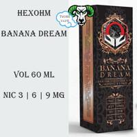 Liquid Hexohm Banana Dream by Hexohm Indonesia x IDJ x Vapezoo x Jvape