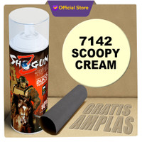 Cat Semprot Shogun Z warna scoopy cream 7142 - cat semprot motor