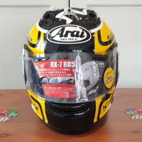 HELM ARAI RX7 RR5 IOM TT 2013