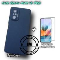 Case Xiaomi Redmi Note 10 PRO Soft Case Matte FREE Tempered Glass