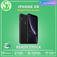 Apple iPhone XR 128GB 64GB Black White Garansi Resmi iBox TAM