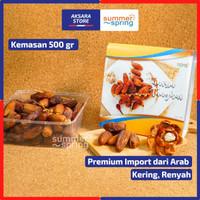 Kurma Tunisia Tangkai (Box 500gr) - Palm Fruit, Kering