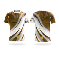Koas Baju Jersey Olahraga Tenis Badminton Pingpong Custom CING55 - XS