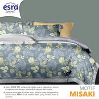 Set Bedcover Sprei Katun motif Misaki Ukuran 180x200 160x200