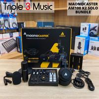 Maono caster MAONO AM100 K2 Solo Bundle Paket Podcast 1 Orang