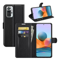Wallet Flip Leather Case Xiaomi RedMi Note 10 Pro - Cover Stand Dompet