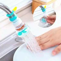Sambungan Kran Flexible Filter Air Anti Splash + Klem Shower Keren