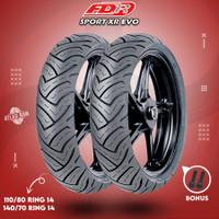 Paket Ban Tubles Motor AEROX FDR SPORT XR EVO 110/80 - 140/70 Ring 14