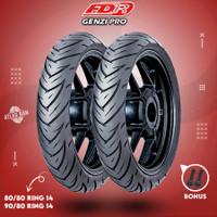 Paket Ban Tubles Motor Matic FDR GENZI PRO 80/80 - 90/80 Ring 14