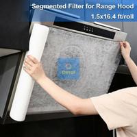 Filter Carbon Asap Cooker Hood Kertas Penyaring Minyak Dapur - Roll