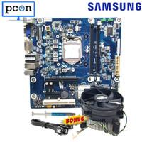Mobo Mainboard Motherboard H61 Socket LGA 1155 Bonus FAN sata + pasta