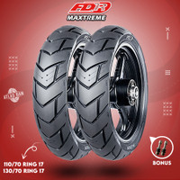 Paket Ban Tubles Motor Batangan FDR MAXTREME 110/70 - 130/70 Ring 17