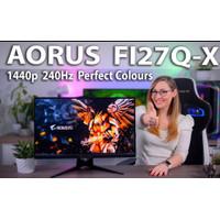 Gigabyte Aorus FI27Q-X EK 27 Inch - QHD IPS 240hz 0.3ms Gaming Monitor