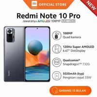Xiaomi redmi note 10 pro 8/128 garansi resmi - bronze