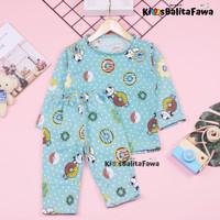 Pajamas Sunday uk Bayi 6-18 Bulan / Piyama Baju Tidur Setelan IMPORT