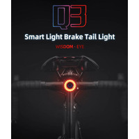 Lampu Sepeda Rockbros Q3 Smart Bike Lamp + 2 Bracket Rockbros not Q5