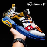 Sepatu Sneakers import Premium Pria Transformer - Navy, 42