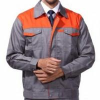 Workwear Baju Seragam Wearpack Kerja Semi Jaket Safety Resleting Depan
