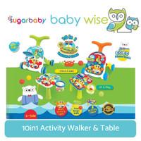 Sugar Baby 10in1 Activity Walker & Table
