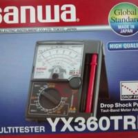 multitester AVO Meter multi tester SANWA YX360TRF