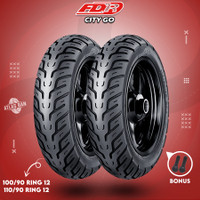 Paket Ban Tubles Motor NEW SCOOPY FDR CITY GO 100/90 - 110/90 Ring 12
