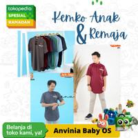 Kemeja Koko Kaos Anak dan Remaja 10 12 14 16 18 T Baju Muslim Kemko