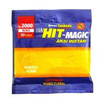 Hit Magic Floral 10 Lembar , Obat Nyamuk Bakar , Hit Magic
