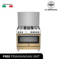 LA GERMANIA Free Standing Cooker 90 Cm (CREAME GUASTALLA RIS95C81CXL)