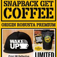 Snapback Get Coffee