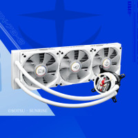 ASUS ROG STRIX LC 360 RGB GUNDAM EDITION LIQUID AIO WATER CPU COOLER