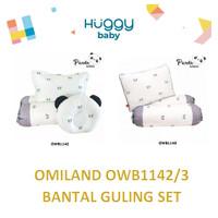 Omiland OWB1142 OWB1143 Set Bantal Guling Bayi Peang