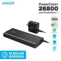 ORIGINAL Powerbank Anker Powercore+ 26800 mAh & PowerPort+ 1 - B1374