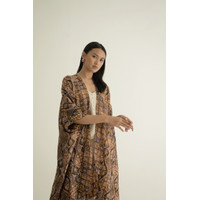 Kirana 37-Outer Batik/Luaran Baju Panjang Wanita/Kaftan Modern