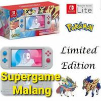 nintendo switch lite zacian and zamazenta pokemon limited edition