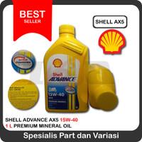 Oli Shell Advance AX5 15w40 motor sport 1 liter