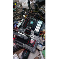 MSI 970 Gaming Motherboard Soket AM3 Plus Support FX 8370 8350 not AM4