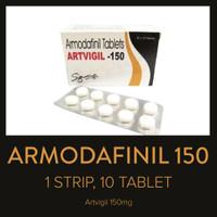 Armodafinil 150 mg Artvigil - 1 strip 10 tablet - Exp Apr 2023 - Ready