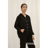 Sare Studio Solo A Line Long Sleeve Top in Black