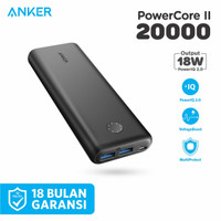 Powerbank Original ANKER Powercore II 20000 mAh QC 3.0 - A1260
