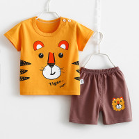 Baju Bayi Kaos Anak Setelan Lengan Celana Pendek Laki Perempuan Katun