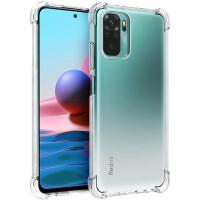 Shock Absorption TPU Case Xiaomi RedMi Note 10 4G - Clear Anti Crack
