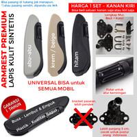 arm rest armrest kulit leather universal sandaran tangan mobil premium