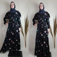 Baju Muslim Syari Gamis Wanita Remaja Dewasa Terbaru Rayon Murah